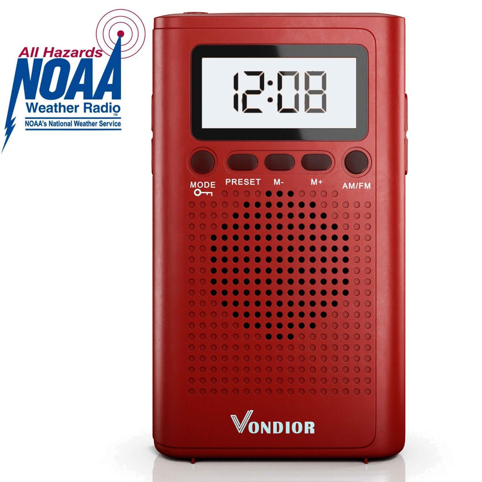 NOAA Weather Radio Emergency Transistor
