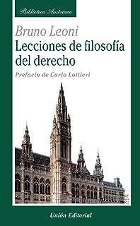 Lecciones de Filosofía del Derecho (Biblioteca Austriaca)