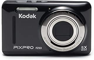 Kodak Point & Shoot,16 MP,5x Optical Zoom and 2.7 Inch Screen - FZ53