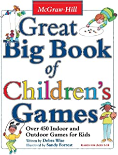 Great Big Book of Children's Games: Over 450 Indoor & Outdoor Games for Kids, Ages 3-14