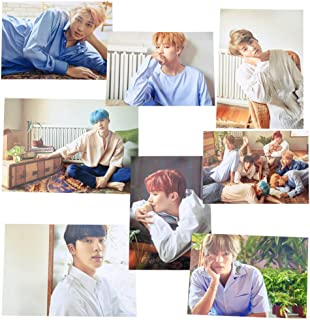 AhlsenL Kpop Bangtan Boys Love Yourself [Her] Poster 8 Sheets (L-Ver.)