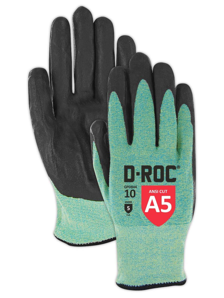 Sales Magid D-ROC GPD844 Ultra-Lightweight Palm Coa 55% OFF Nitrile Micro-Foam