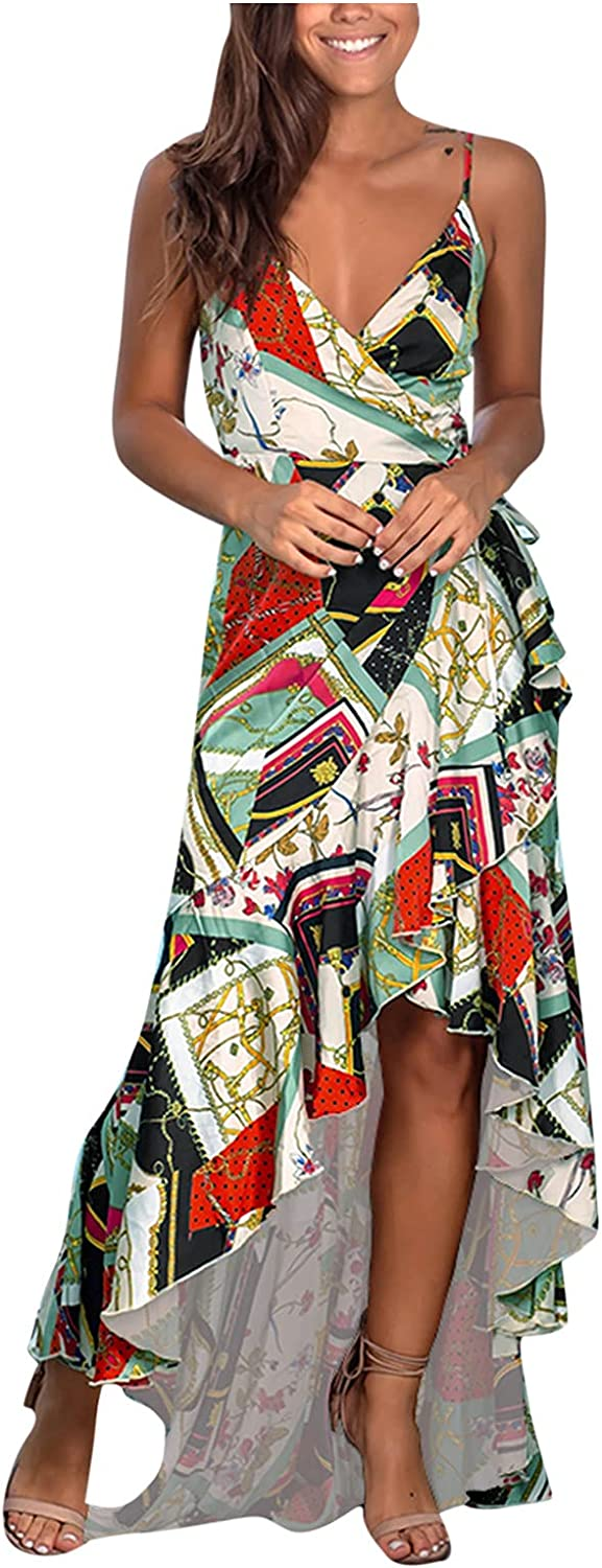 Summer Dresses for Womens Spaghetti Stra Sleeveless Albuquerque Mall Prom Challenge the lowest price