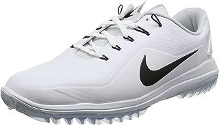 Nike New Mens Lunar Control Vapor 2 Golf Shoes White/Black/Platinum Sz 14M