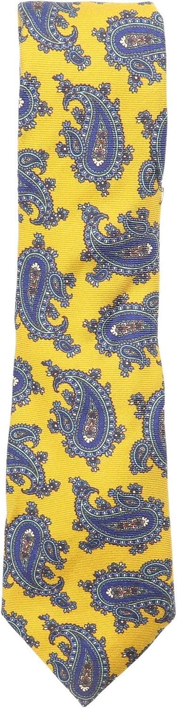 Altea Milano Men's Paisley Wool and Silk Necktie