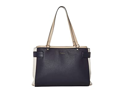 Fiorelli Brie Satchel (Nautical Mix) Satchel Handbags