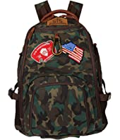 Camo Big Swiss Army Backpack