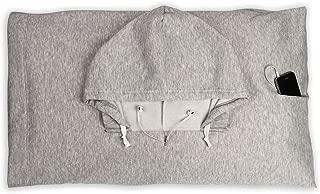 HoodiePillow Hooded Pillowcase - Gray