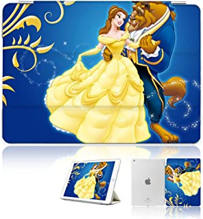 (For iPad Generation 5 6/iPad 9.7 inch 2017 & 2018 Version) Smart Case Cover - A30287 Beauty Beast