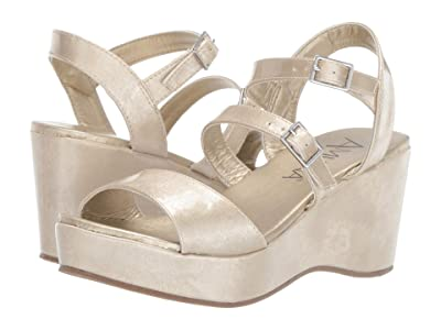 Amiana 15-A5520 (Little Kid/Big Kid/Adult) (Gold Patent) Girl