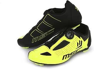 MSC Bikes Aero Road Cycling Shoes, Yellow, T-38