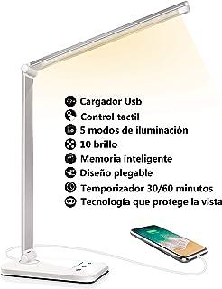 Lámpara Escritorio LED, Flexo de Escritorio (Cuidado Ocular