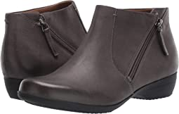 Grey Burnished Nubuck