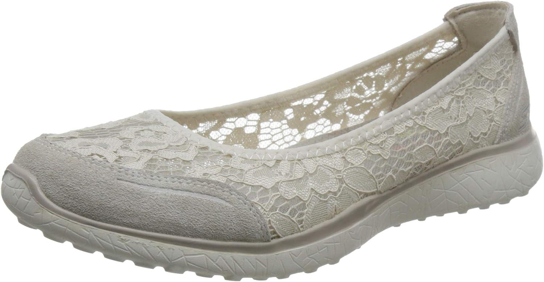 Skechers Microburst Sweet Bloom Womens Skimmer Sneakers