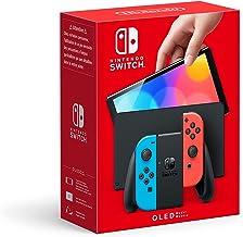 Nintendo Switch (versión OLED) Azul Neón/Rojo Neón