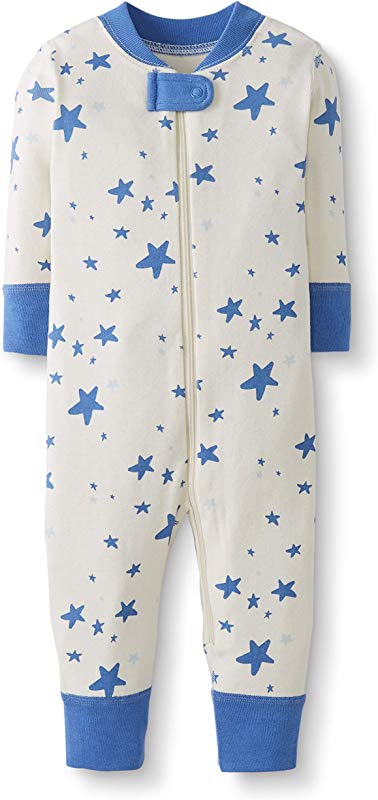 Moon And Back By Hanna Andersson Baby Toddler One Piece Organic Cotton Footless Pajamas