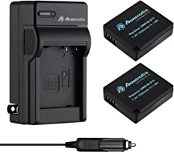 Powerextra 2 Pack Replacement Battery and Charger for Panasonic DMW-BLE9, DMW-BLG10 and Panasonic Lumix DMC-ZS60, DMC-ZS100, DMC-GX7, DMC-LX100, DMC-GF3, DMC-GF5, DMC-GF6, DMC-GX85