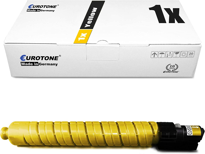 4X Eurotone Toner for Ricoh Aficio MP C 2800 3300 AD SPF Replaces 841124 TYPE3300K RHC3300EBLK Black