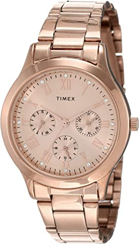 Timex Analog Gold Dial Women S Watch TW000Q810