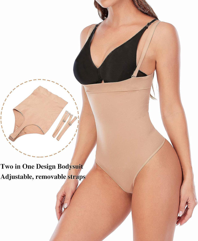 SHAPERX Femme Bustiers Fajas Body Amincissant Reductoras Contr/ôle Bodysuit Abdominale Shapewear