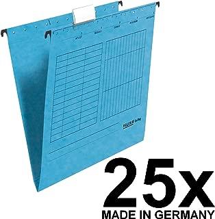 Heftung grau confezione da 25 kfm Falken Cartelle Sospese unireg realizzata in cartone riciclato Raccoglitore commerciale