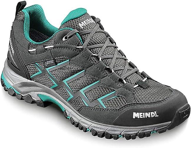 Meindl Caribe Lady GTX 38230-63 Chaussures de randonnée pour Femme gris Turquoise