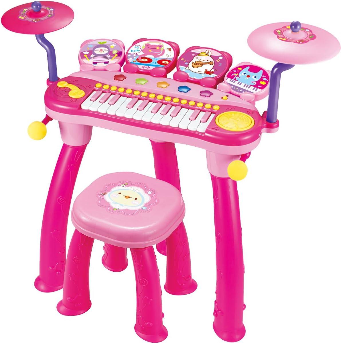 BAOLI 24 Keys DJ Popular shop is the lowest price challenge trend rank Piano Keyboard with Drum Combination Microphone