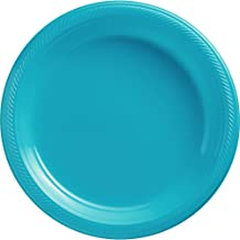 Caribbean Plastic Luncheon Plates Party