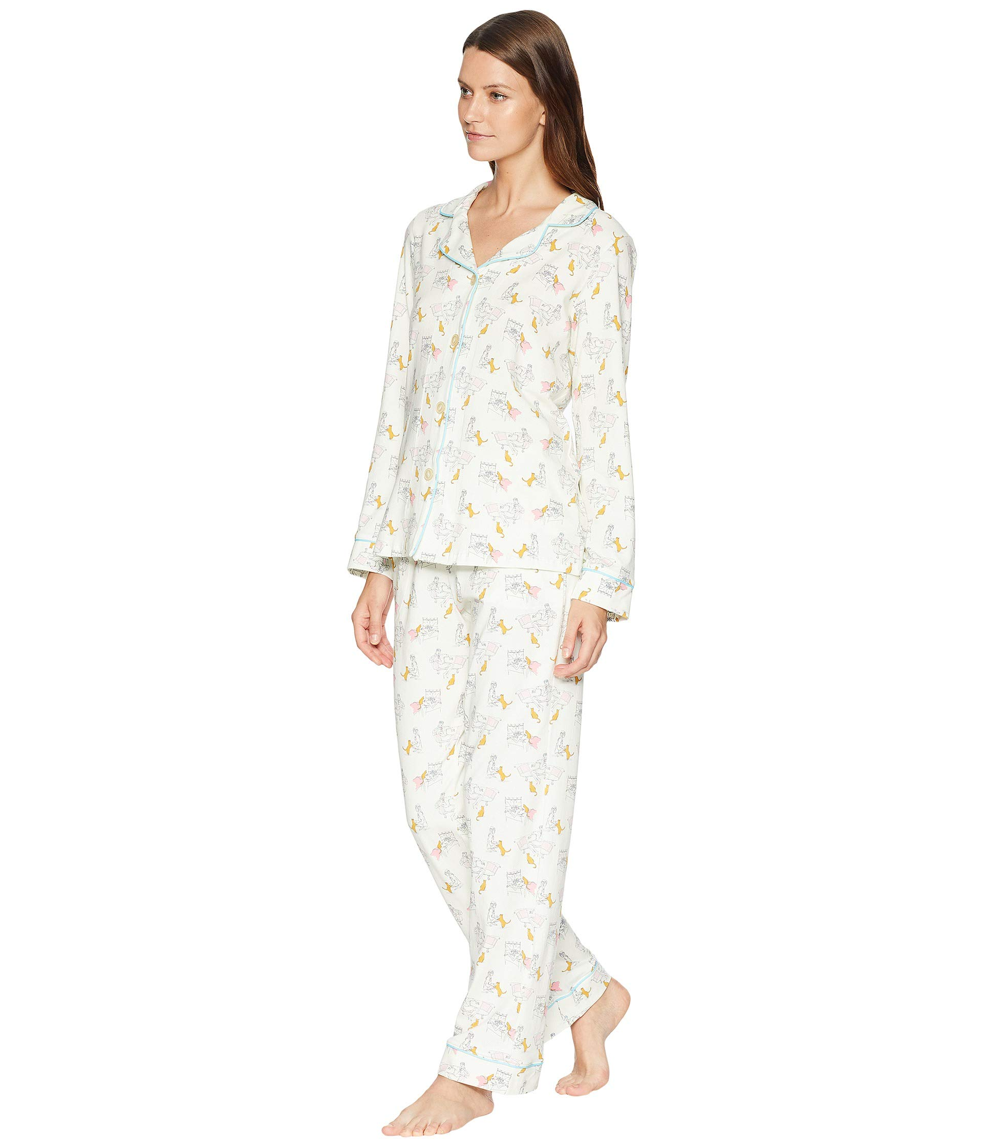 Notch Bedhead Holly's Classic Pajama Cats Set Collar r5FCx4w8qF