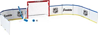 Franklin Sports Mini Hockey Rink Set - Half Rink Knee Hockey Goal, Mini Sticks, and Ball Set - Indoor Mini Hockey Rink - O...