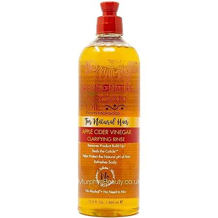 Creme Of Nature Argan Oil Apple Cider Vinegar Rinse 15.5 Ounce (460ml)