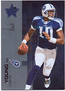 Vince Young 2007 Leaf Rookies & Stars Silver #87 - 024/249 - Tennessee Titans