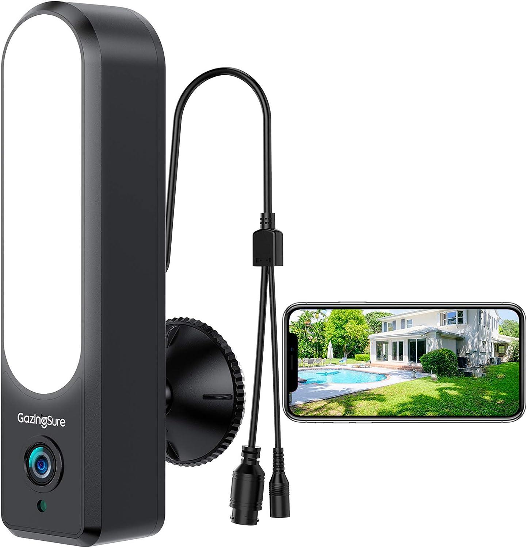 2020 Upgrade WiFi Max 69% Sale item OFF Outdoor Security Fl GazingSure Camera Alexa