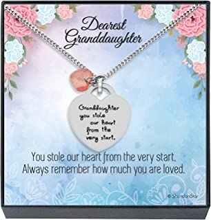Best granddaughter necklace from grandma Reviews