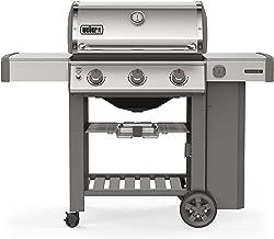 Weber 61001001 Genesis II S-310 3-Burner Liquid Propane Grill, Stainless Steel
