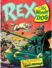 Wee Blue Coo Comics Rex Wonder Dog Tank Soldier Gun Battle USA Unframed Wall Art Print Poster Home Decor Premium