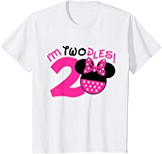 Kids Second Birthday Mouse Shirt, I'm Twodles, 2nd Birthday Party T-Shirt