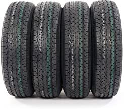 Motorhot ST225/75R15 Load Range E Radial Trailer Tires 10 Ply 2257515 Pack of 4