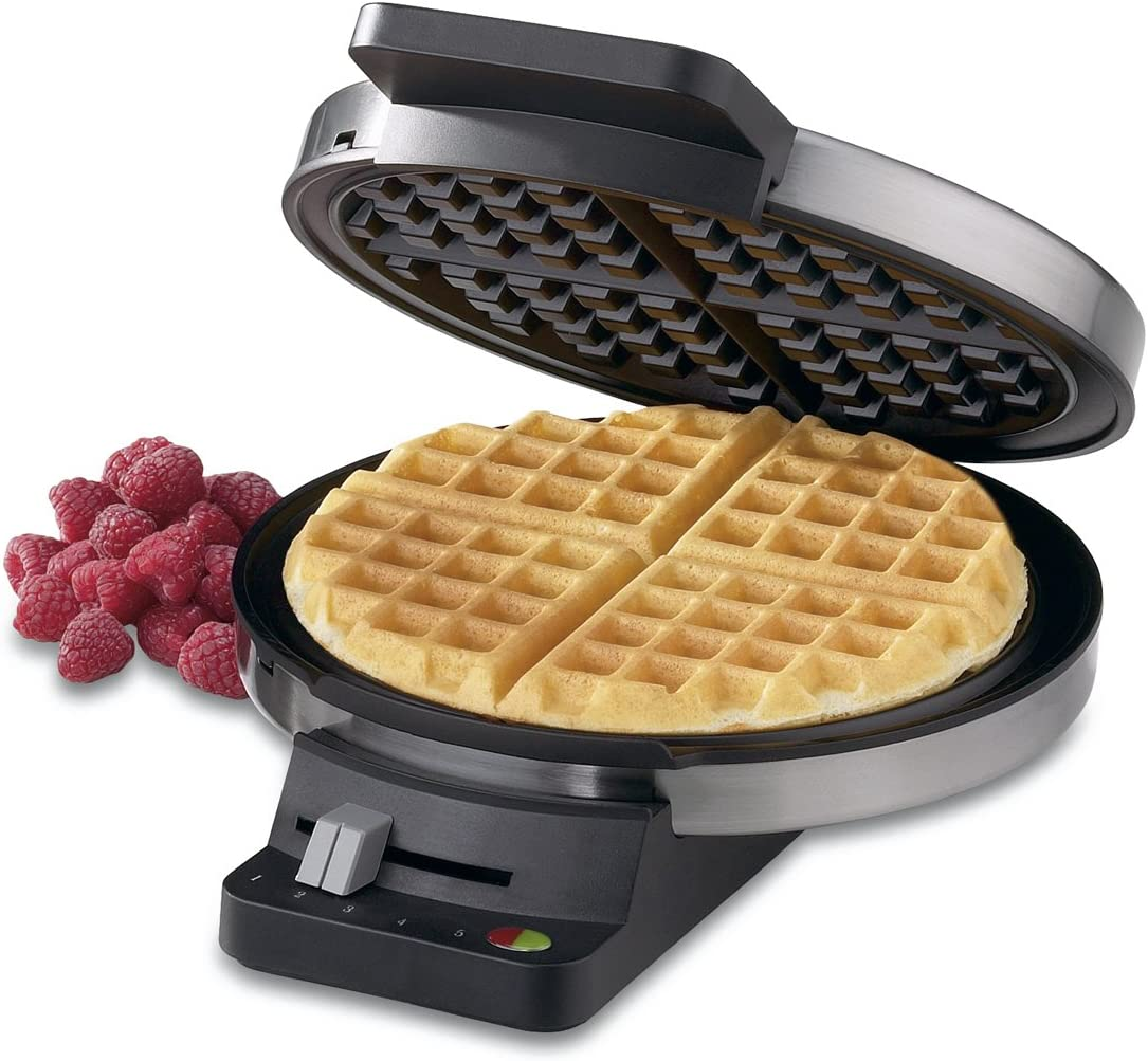 Stainless Steel Cuisinart WMR-CA Round Classic Waffle Maker Silver ...