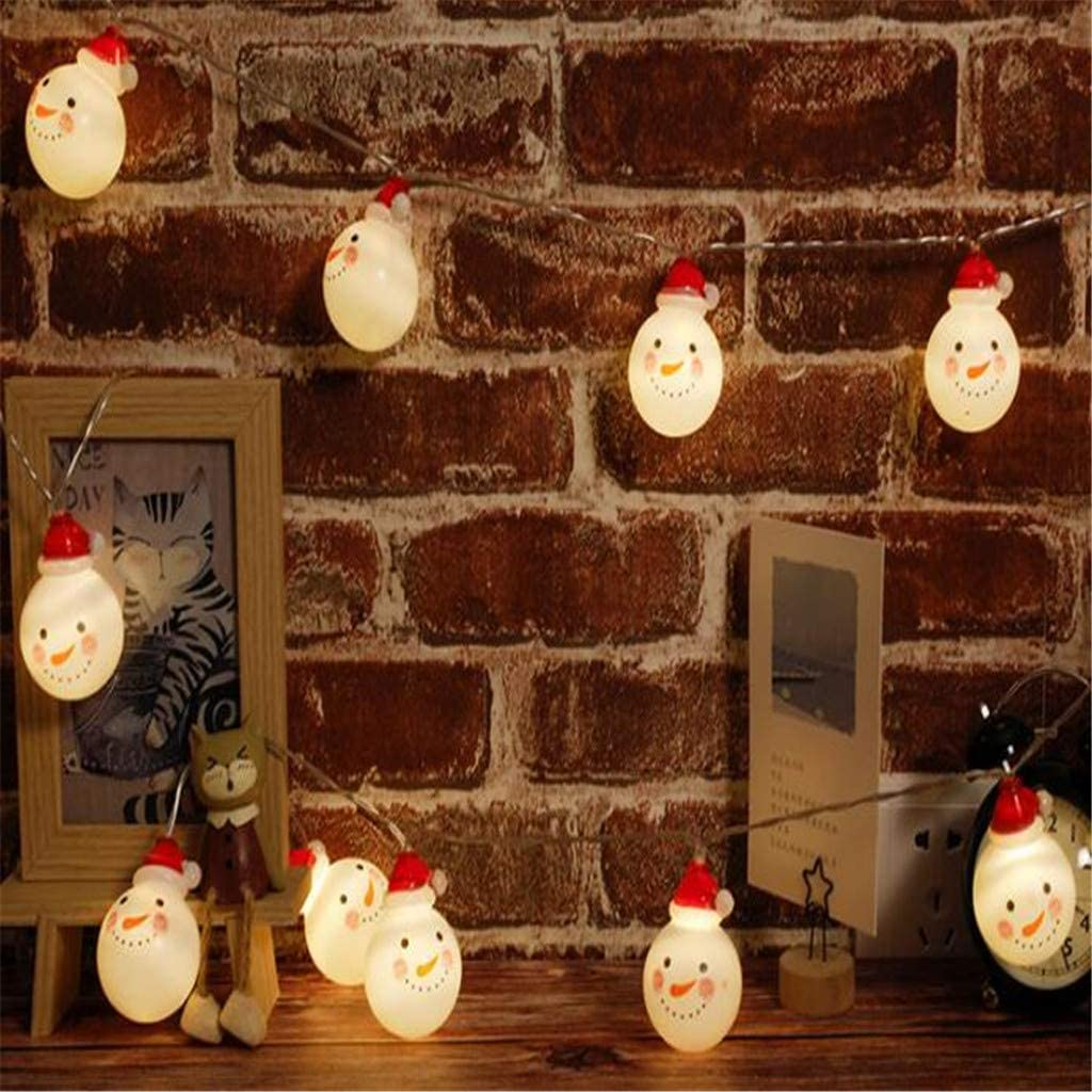 Christmas Direct sale Max 42% OFF of manufacturer Day Decoration String Led Lights Santa Claus