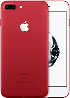 Apple iPhone 7 Plus, 128GB, Red - For GSM (Renewed)