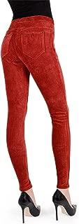Wide-Rib Stretch Corduroy Leggings | Women's Premium Leggings