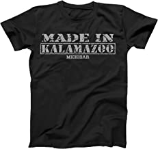 Retro Vintage Style Made in Michigan, Kalamazoo Hometown Shirt