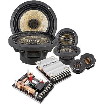 "Precision Power P.65C3 6.5"" 3-Way Power Class Series Component Car Audio Speaker System"