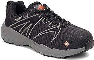 حذاء عمل Fullbench 55 للرجال من Merrell, (أسود), 8