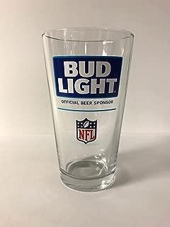 Bud Light NFL - Retro Design - 16oz Glass - 1 Pk