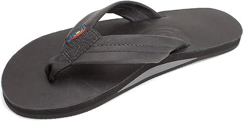 Rainbow Sandales pour Hommes en Cuir de qualité supérieure Sandales