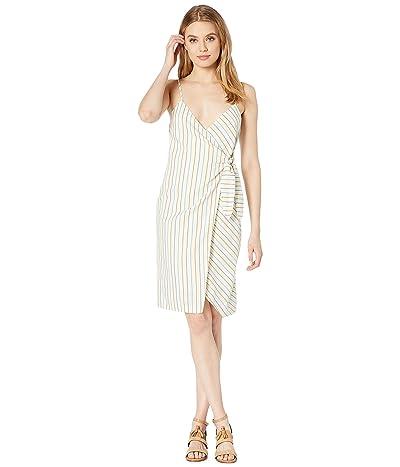 BCBGeneration Wrap Midi Dress TEC6210634 (Multi) Women