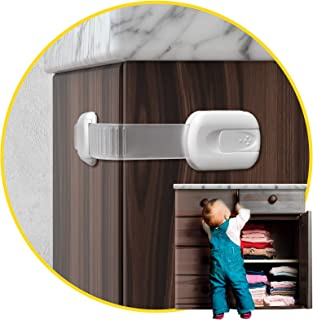 Child Safety Cabinet Locks for Babies (14 Pack) Child Proof Latches Locks for Cabinets and Drawers Doors, Baby Proofing Ca...