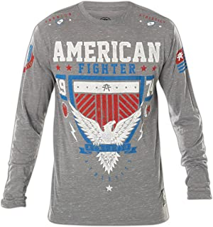 Clearmont Artisan Long Sleeve T-Shirt Top for Men by Affliction